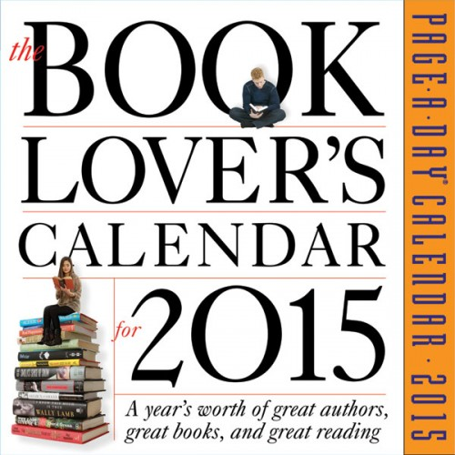 book lovers calendar